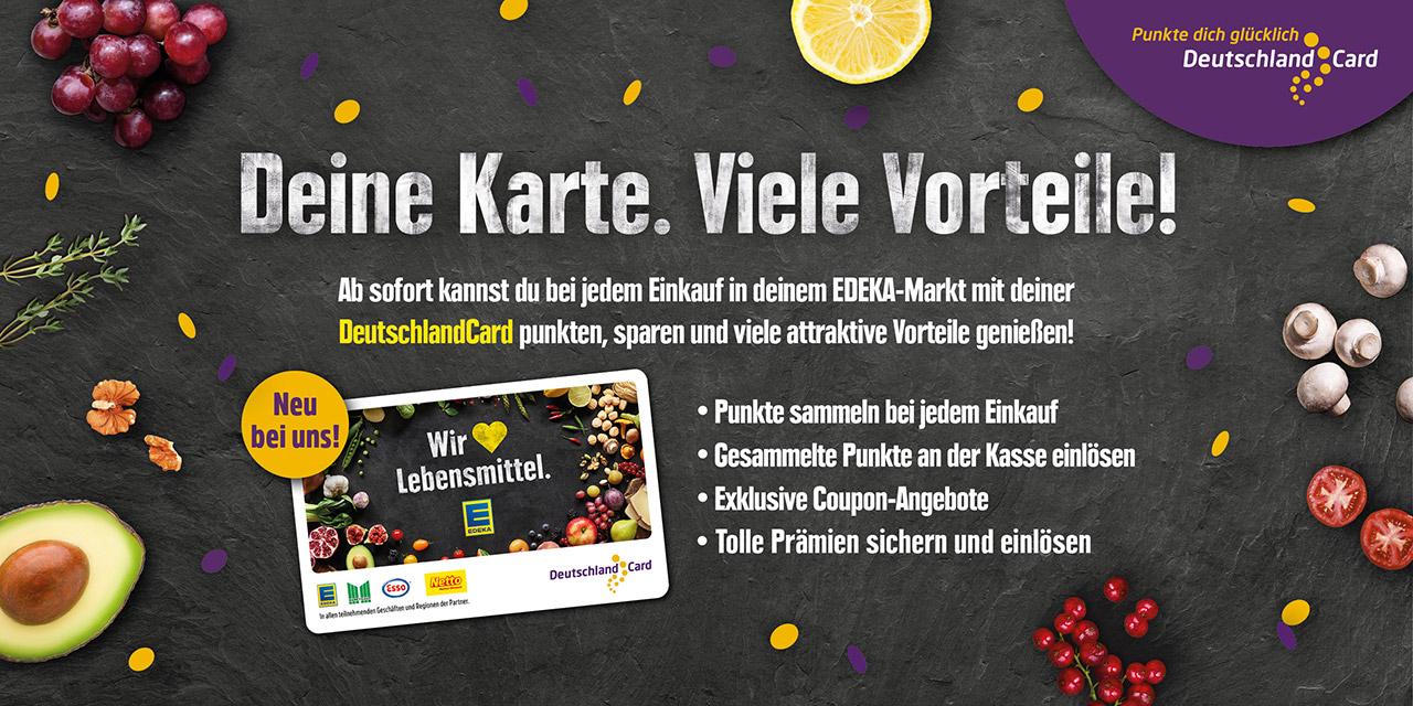 DeutschlandCard – Deine Karte. Viele Vorteile!